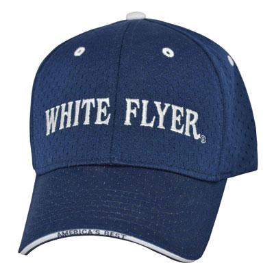 White-Flyer-Navy-Mesh-front-400