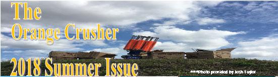 """Summer 2018 Newsletter """"The Orange Crusher"""""""
