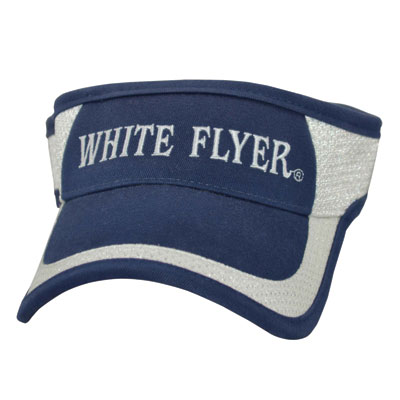 816541946 White Flyer Navy Visor