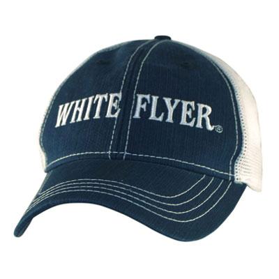 White Flyer Mesh Trucker Hat  019f76d0362