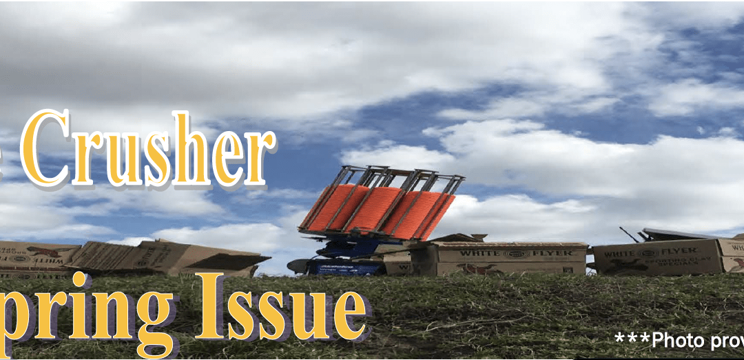 "Spring 2018 Newsletter ""The Orange Crusher"""